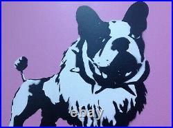 Mrs Banksy Glenda original. Signed. (lik Banksy, Gross domestic, Dismaland)