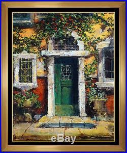 NO RESERVE James Coleman Original Embellished Giclee On Canvas Signed Painting
