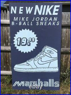 Nike Air Jordan 1 Original Art Pop cAnVaS 1985 og red 85 retro high hi varsity