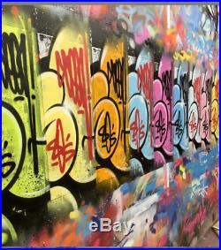 ORIGINAL SEEN PAINTING Graffiti on CANVAS Street Art'Godfather of Graffiti