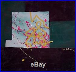 Oil on Canvas Original Painting Signed Latin American Master