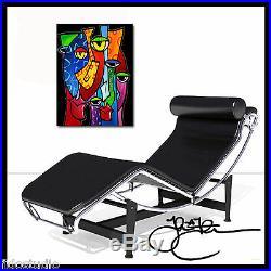 Original Abstract print Modern POP Whimsical HUGE Canvas WALL Art Fidostudio
