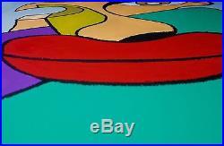 Original Art Painting 16 x 20 Oils/Oil Pastels On Canvas