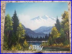 Original Bob Ross Painting