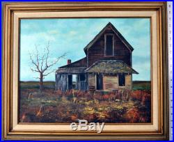 Original Guadalupe Apodaca Oil Panting on Canvas