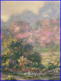 Original Oil On Canvas By Listed California/arizona Artis Robert Goldman