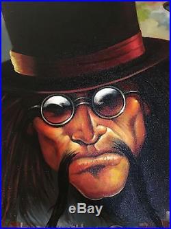 Original Oil On Canvas Ken Kelly Art Painting 30X40