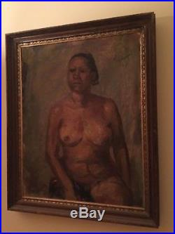 Original Oil On Canvas by ZUNIGA, painting in wood /gild frame- Mexican Women