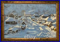 Original Oil Painting Russian Art Listed Artist Alexander Volya