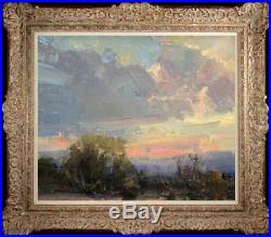 Original Oil Painting art Impressionism seascape Landscape on canvas 20x24