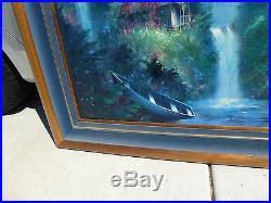 Original Oil on Canvas World Renown Artist Buck Paulson Joy in the Morning