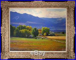Original Oil painting art Impressionism Landscape On Canvas 20x24