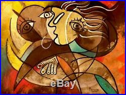 Original Pablo Picasso Oil On Canvas Signed. Collectors Choice