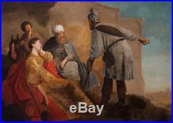 Original Painting 17th Century Oil On Canvas 148 x 105 cm