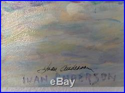 Original Painting on canvas Signed by Ivan Anderson Titled Big Sister