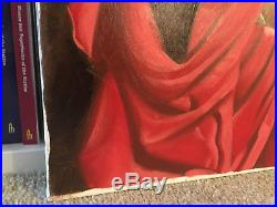 Original Pin Up Painting Donald Rusty Rust Oil on Canvas 24x30 Pinup Ruby