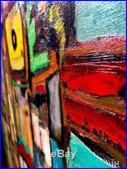 Original painting Screaming Loud oil on canvas 30x40 in by Anastasiya
