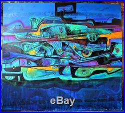 Painting Original ACRYLIC ON CANVAS FINE ART CONTEMPORARY ORIGINAL COA