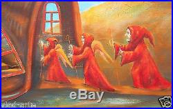 Painting Original Fine Art OIL on canvas by Pronkin 2015 surrealism painting