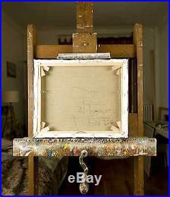 Paris Original Oil Painting on Canvas Contemporary French Art by Neal Turner NR