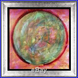 Paul Stanley Green Planet Giclee on Canvas Original Hand Signed Kiss Modern Art