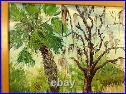 Pierre Henri Matisse Oil on Canvas Painting Jones Island FL Landscape H Signed