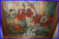 Post Impressionist Dutch Original Oil on Canvas