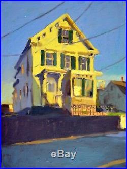 Provincetown Oil On Canvas 12x12 Original Oil Painting Plein Air Cape Cod