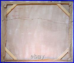 ROBERT STANLEY Signed 1966 Original Acrylic Pop Art Painting 4 Beatles LISTED