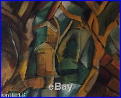 Rare Cubist Original oil, painting, on canvas signed Georges Braque w COA