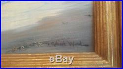 Robert Wood Original Oil Painting