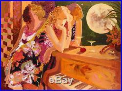 Sabzi Magical Night Original Oil on Canvas