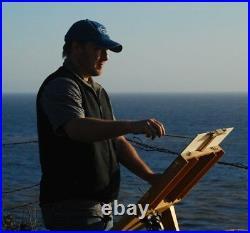 Sailboat River Impressionism Art Oil Painting Coastal Landscape Tonal Seascape
