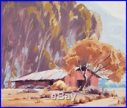 Sam Hyde Harris original oil on canvas 20 x 24 California Impressionist