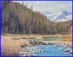 Sean Wu, Framed original 16x20 oil on stretched canvas