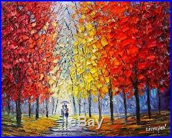 Slava Ilyayev Morning Stroll, original, oil on canvas