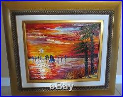 Slava Ilyayev Original Oil Painting On Canvas Tropical Delight