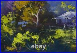 Sofala, Australian Landscape Painting, oil painting, original Australian scene