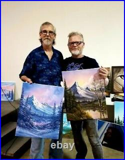 Steve Ross, Son of Bob Ross, Original Painting RARE
