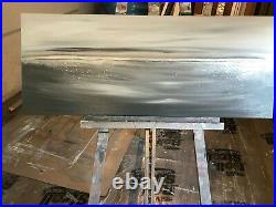 Stunning Original Contemporary Canvas Art. Abstract seascape by Kerry Bowler