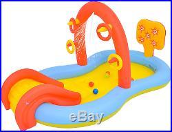 Swimming Pool for Kids, Dinosaur Pool Sprinkler Water Toys, Size 88.5 X 49X 41