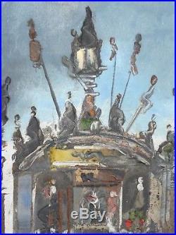 TREVOR LAWRENCE Original oil painting on canvas Signed unframed