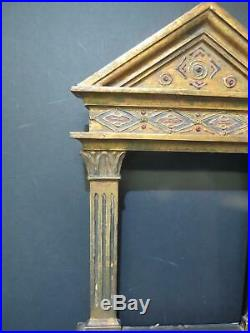 Tabernacle Frame 1800s for 9 x 7 Canvas Antique Frame Arts & Crafts