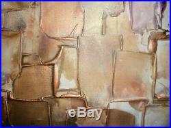 Textured Art Acrylic Original Contemporary Painting Canvas By Caroline Ashwood