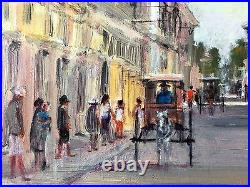 VIGAN Original Philippine Art Oil Painting by Jun Rocha 30 x 24 in