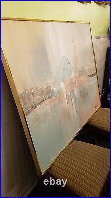 VINTAGE LEE REYNOLDS ORIGINAL OIL PAINTING SIGNED ABSTRACT ART F can deliver