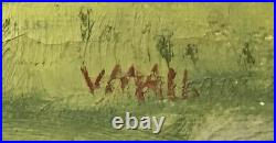 Valdemar Mau (1892-1952) EARLY MORNING WALK