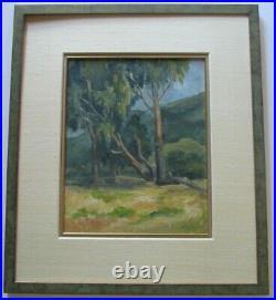 Vintage California Impressionist Painting Plein Air Landscape Regal Studios