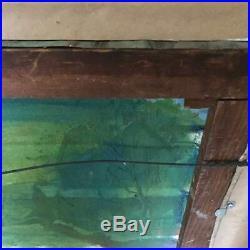 WALTER EMERSON BAUM 1884-1956 Original Oil on Canvas Bucks Co. Pennsylvania