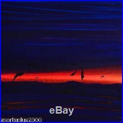 Wyland Signed Original Acrylic Painting On Canvas Celebrating The Sea Framed